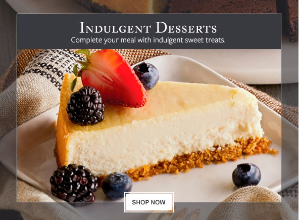Desserts & Bakery - Complete your meal with indulgent sweet treats.