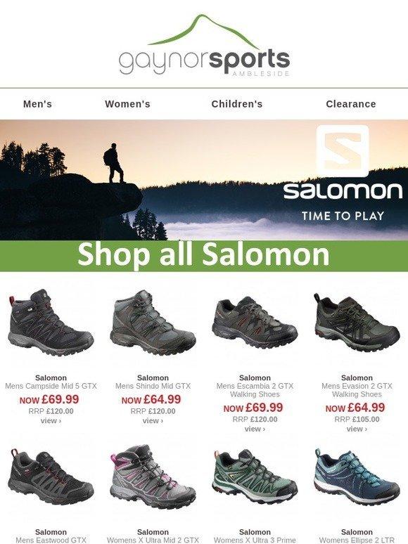 26d8db9ed258 www.gaynors.co.uk  Up to 40% off Salomon footwear