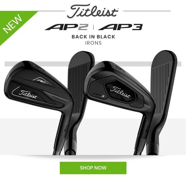 Edwin Watts Golf: New Titleist AP2 & AP3 Black Irons + 50
