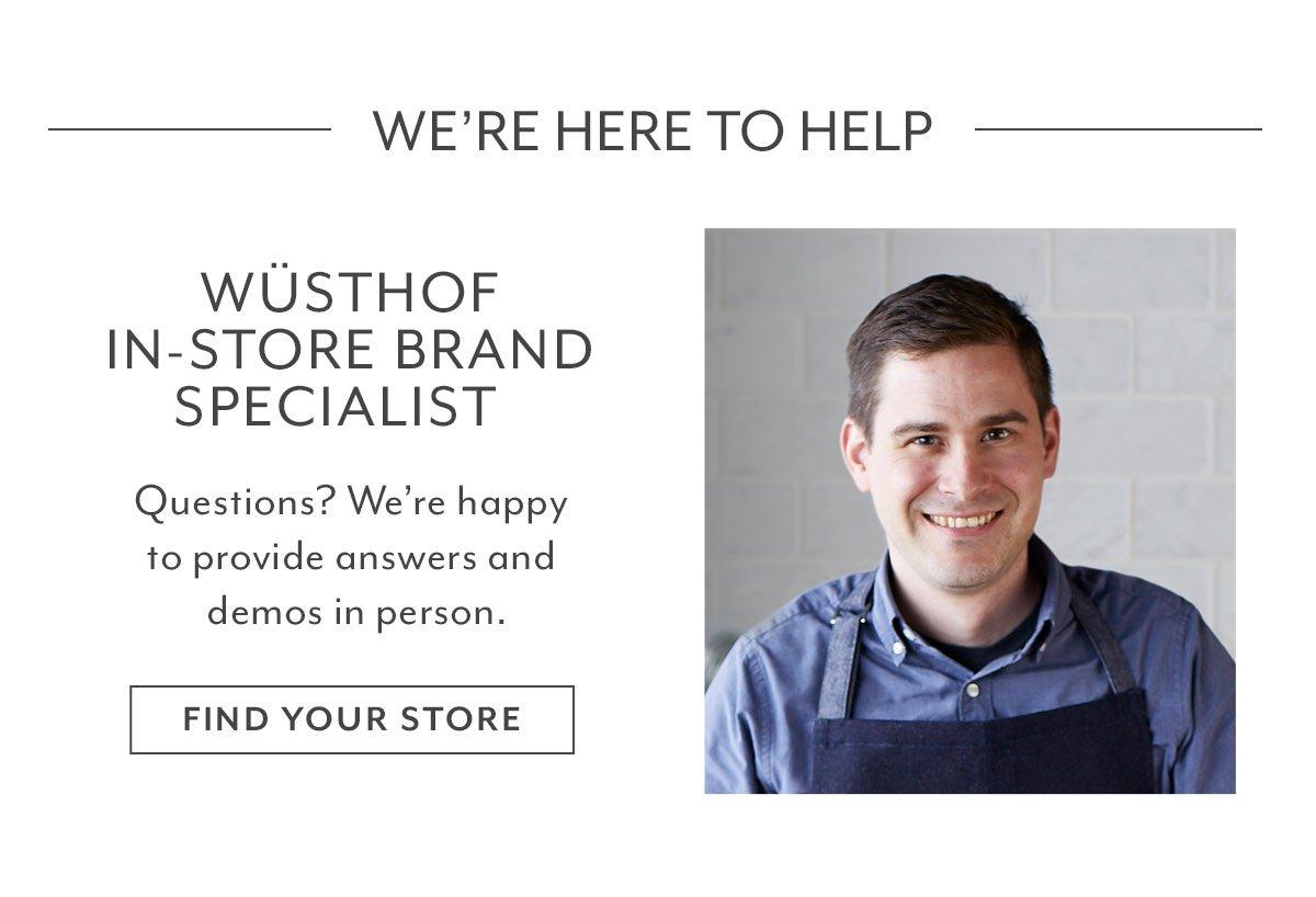 Wüsthof In-Store Brand Specialist