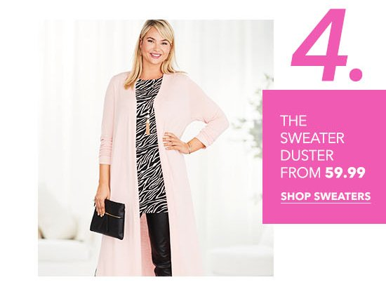 The Sweater Duster From $59.99