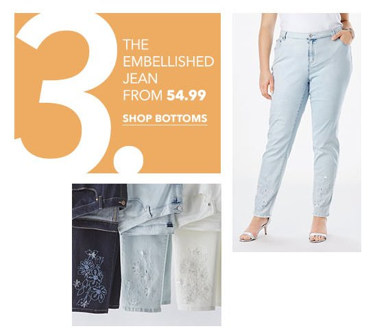 The Embellished Jean From $54.99
