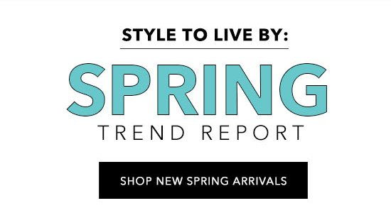 Shop New Sping Arrivals