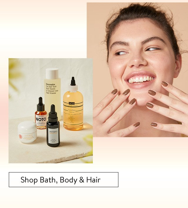 Pop-In@Nordstrom Fresh Faces: bath, body and hair.