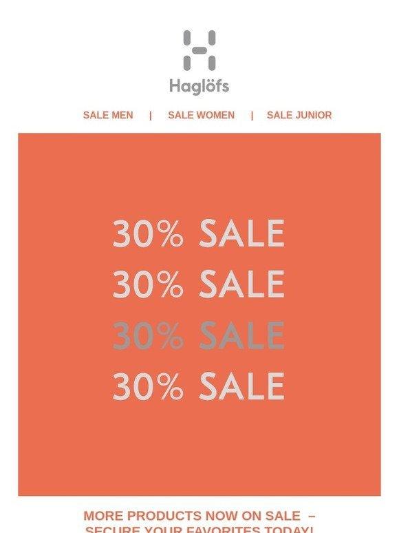 49c4c4c9a4d Haglöfs SE: Sale 30% – Secure your favorites today! | Milled