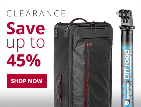 Manfrotto Clearance - While Supplies Last