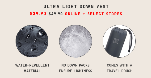 ULTRA LIGHT DOWN