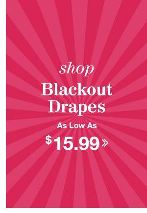 Shop Blackout Drapes!