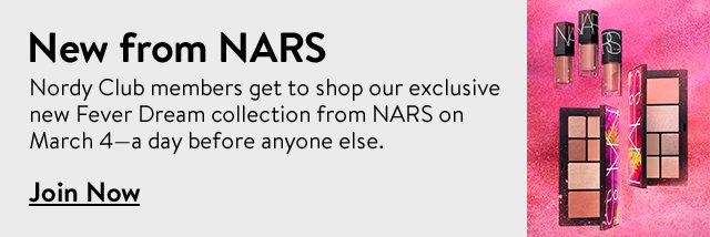 Nordy Club members enjoy first to shop access to an exclusive new collection from NARS.