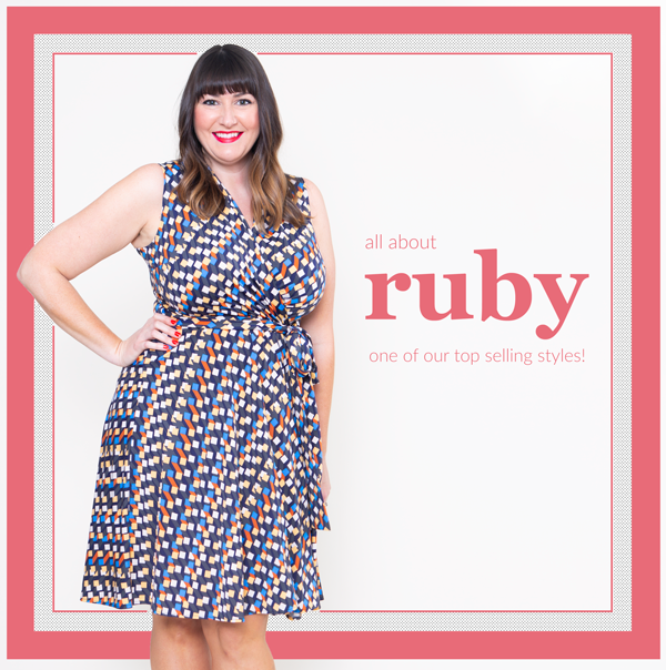 0bcf380521f Have you tried our Ruby Dress  Ruby is one of our best-selling styles! It s  our faux wrap dress and it s perfect for any occasion.
