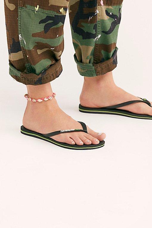 Havaianas Slim Brazil Flip Flop Sandal