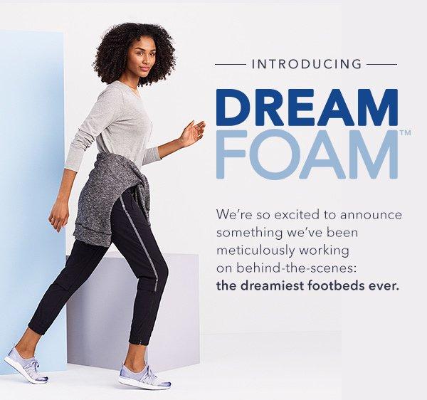 Keds: Introducing Dream Foam™️   Milled
