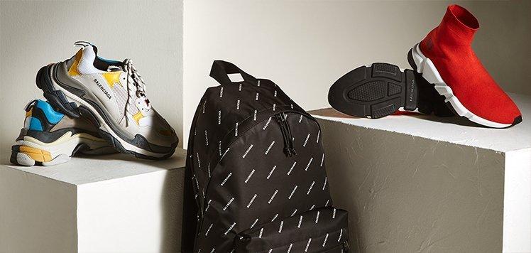 Balenciaga & More Luxe Extras for Men