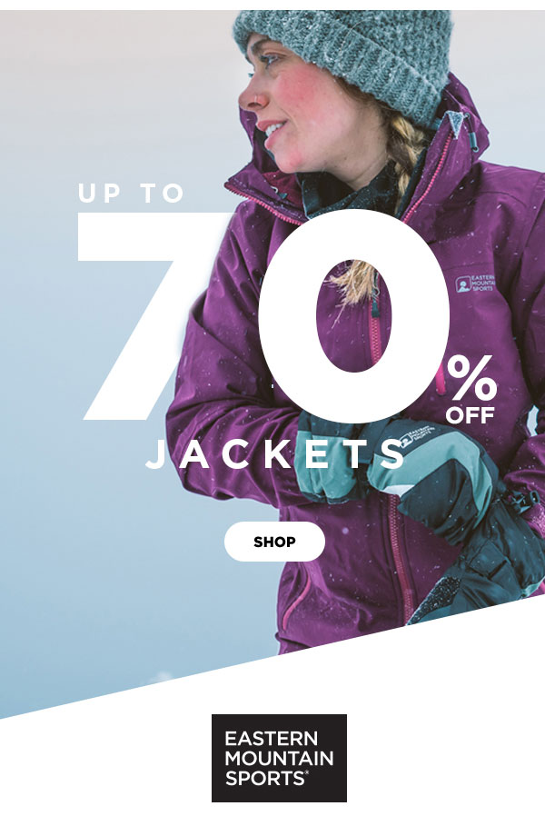 4de6ab5fe Eastern Mountain Sports: Up to 70% OFF Jackets: EMS, The North Face ...