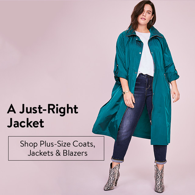 A just-right jacket.
