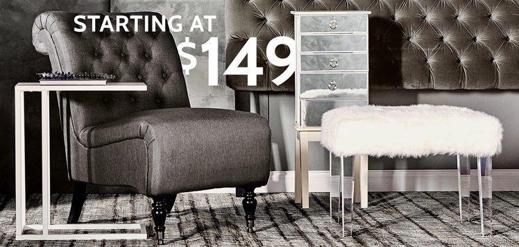 Headboards, Nightstands & More Furniture