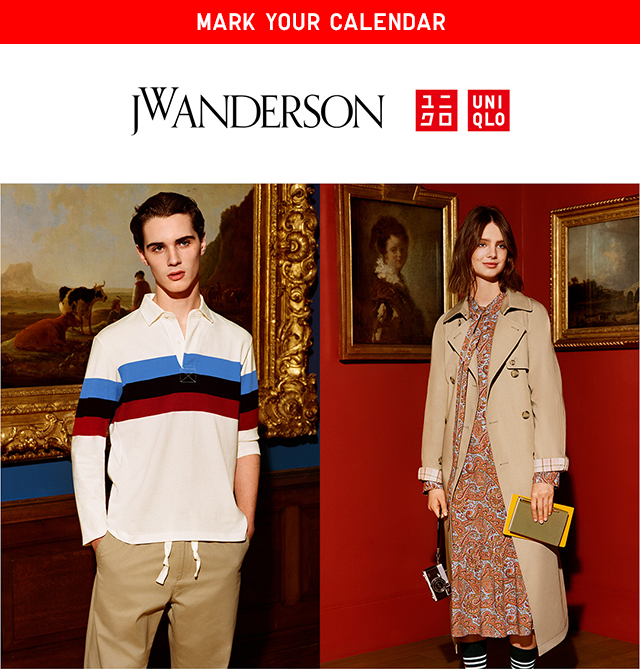 JW Anderson + UNIQLO - SPRING/SUMMER 2019 COLLECTION