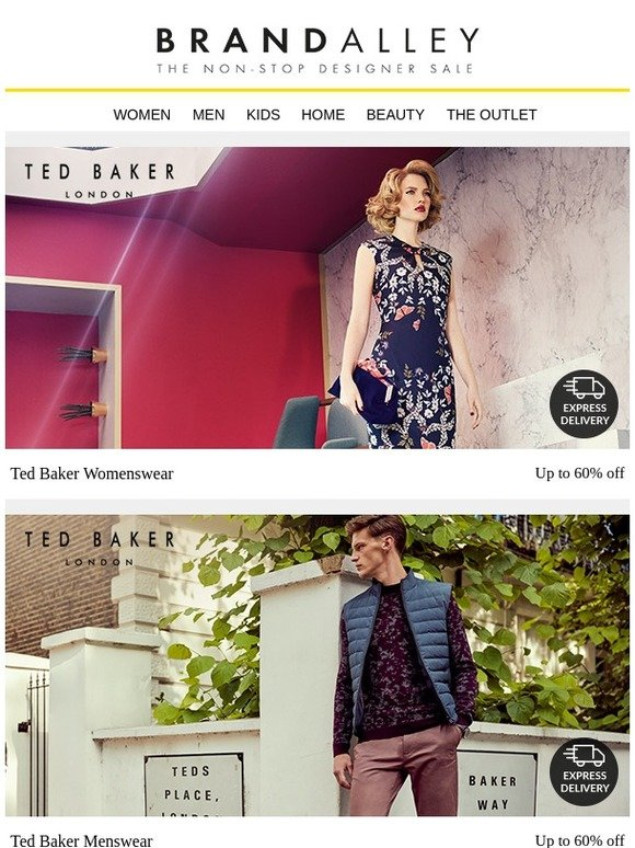 c30b4c6d66e8 brandalley uk limited  CLOSING SOON  Ted Baker