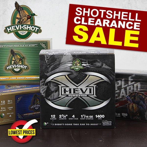 WingSupply: Hevi savings: Hevi-Shot clearance sale live now!   Milled