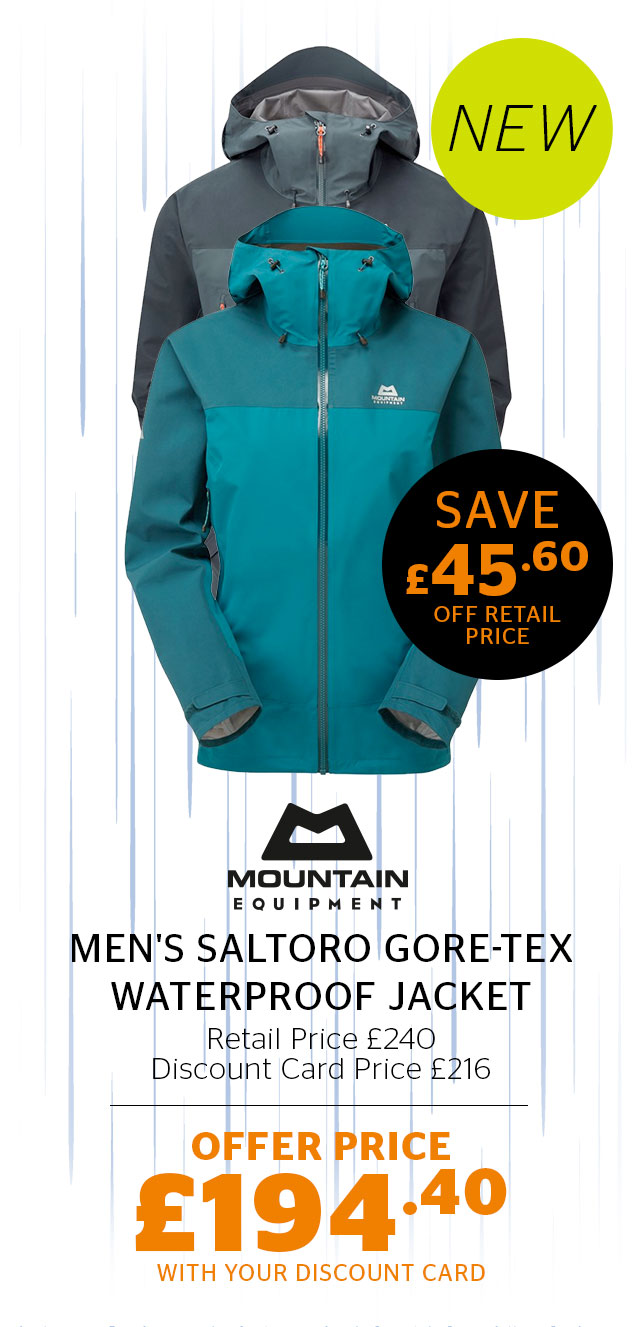 Mountain Equipment Men's Saltoro GORE-TEX Waterproof Jacket