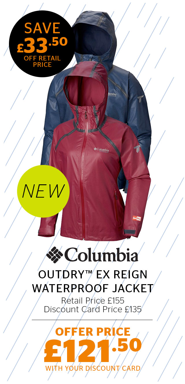 Columbia Women's OutDry™ Ex Reign Waterproof Jacket