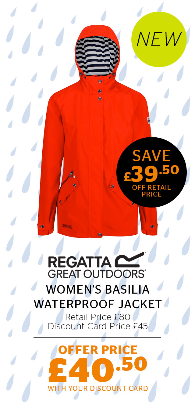 Regatta Women's Basilia Waterproof Jacket