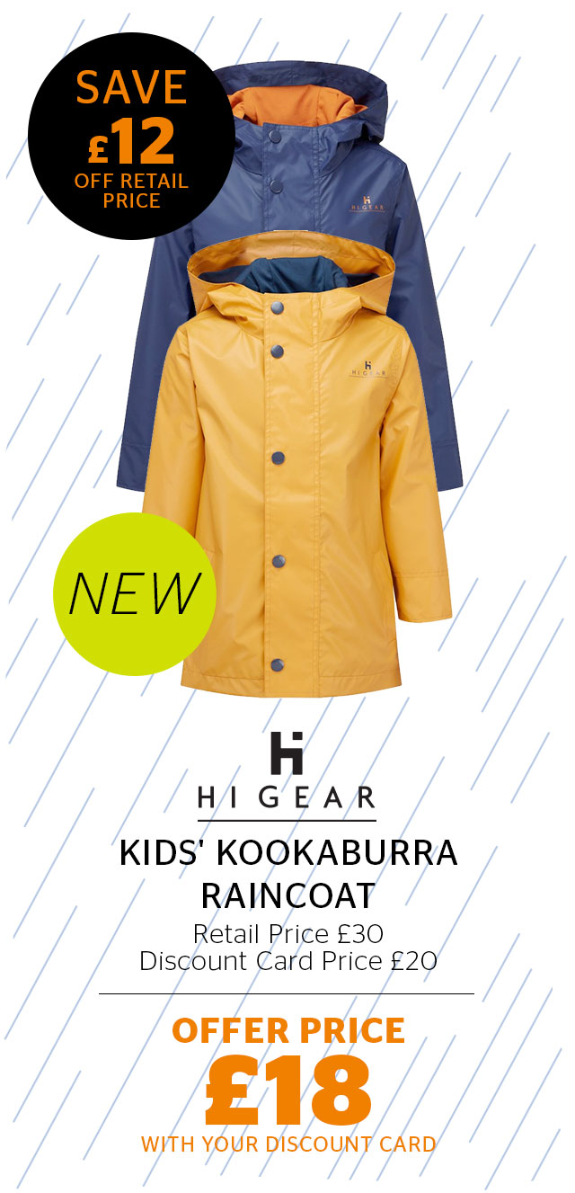 Hi Gear Kids' Kookaburra Raincoat