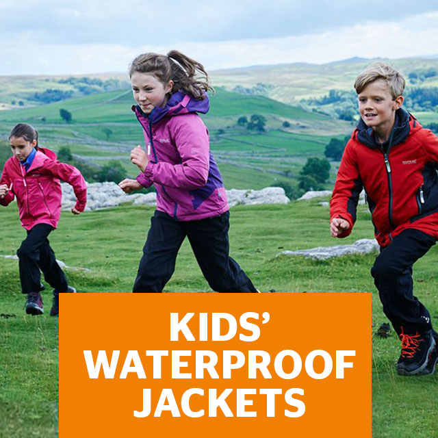 Kids' Waterproof Jackets
