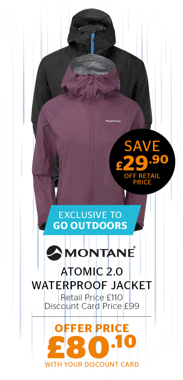 Montane Atomic 2.0 Waterproof Jacket
