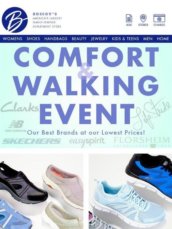 Shop Our Comfort \u0026 Walking Event