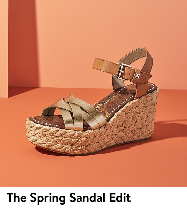 The spring sandal edit.