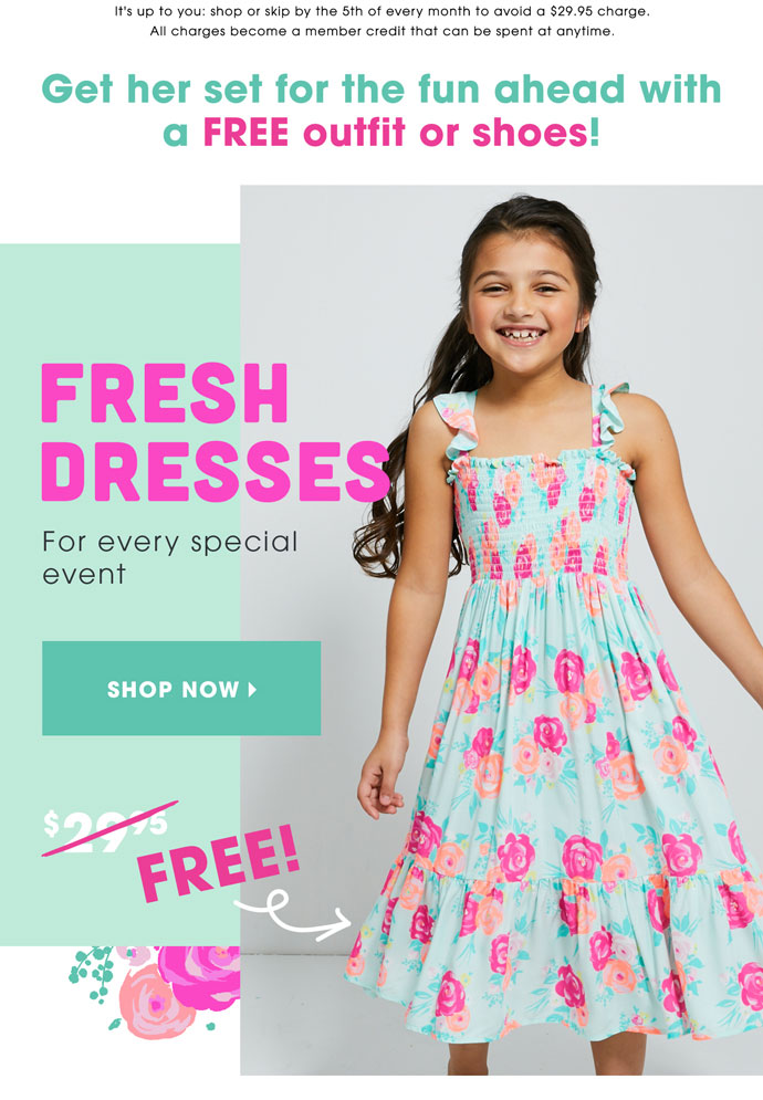 Shop FREE Dresses