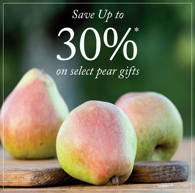 b0625a56587e ... and enjoy special deals on legendary Royal Riviera® Pears before time  runs out. Sale prices valid through March 4, 2019, and only while  supplies last.