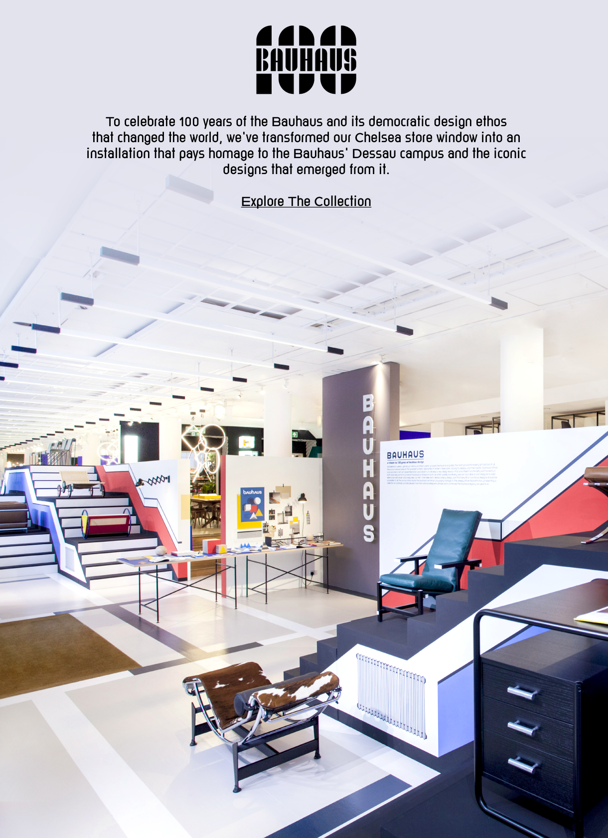 The Conran Shop Our Tribute To 100 Years Of Bauhaus Design