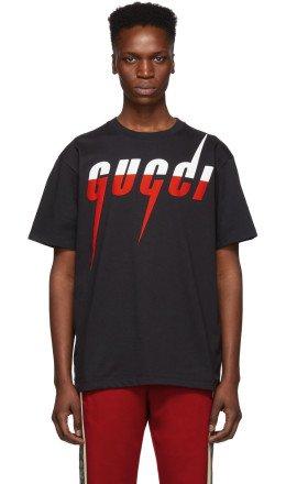 Gucci - Black Logo T-Shirt