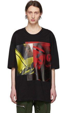 Maison Margiela - Black Cotton T-Shirt