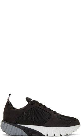 Thom Browne - Black Raised Sneakers