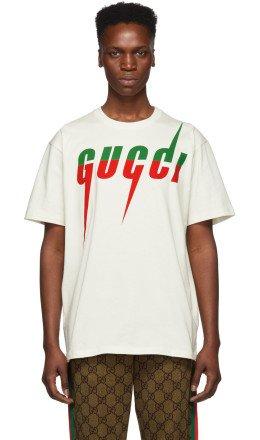 Gucci - Off-White Logo T-Shirt