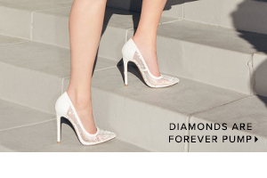 SHOP DIAMONDS ARE FOREVER PUMP