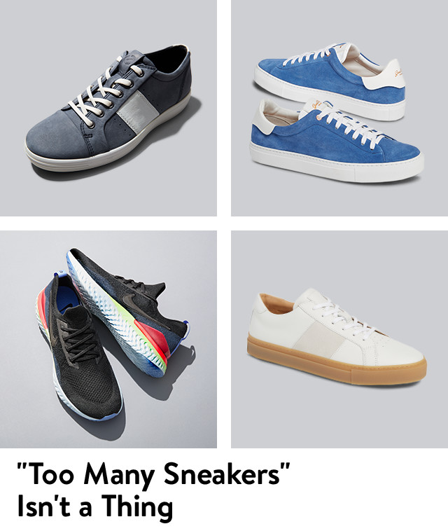 Men's sneakers from Nike, Good Man Brand and more.