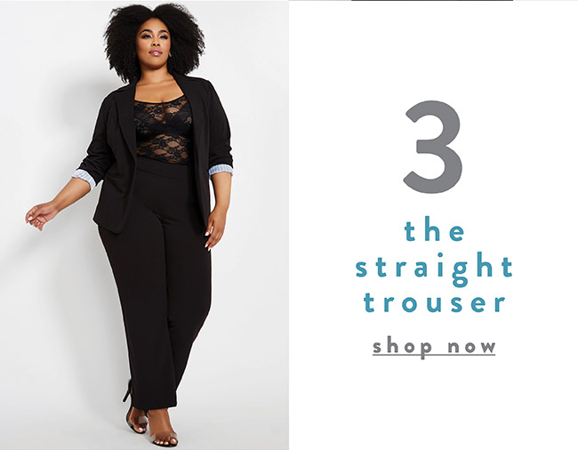 The straight Trouser - Shop Now