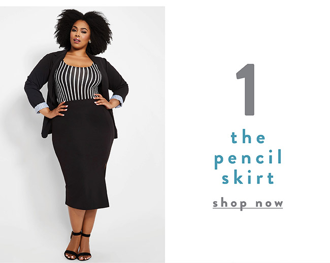 The pecil skirt - Shop Now