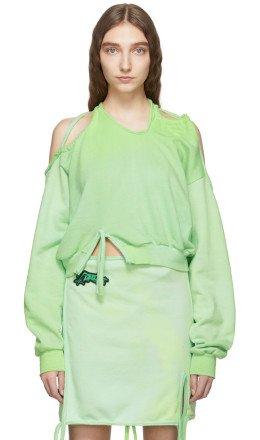 Ottolinger - Green Halter Sweatshirt