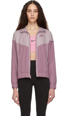 Nike - Pink & Purple Sportswear Windrunner Jacket