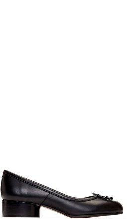 Maison Margiela - Black Tabi Ballerina Heels