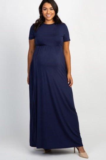 Maternity Plus Dress 2