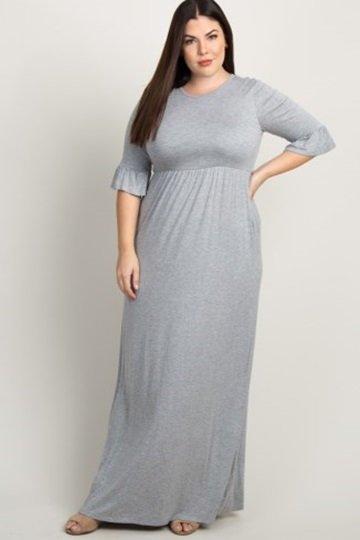 Women's Plus Dress 1