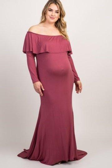 Maternity Plus Dress 3