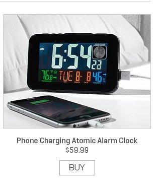 Phone Charging Atomic Alarm Clock