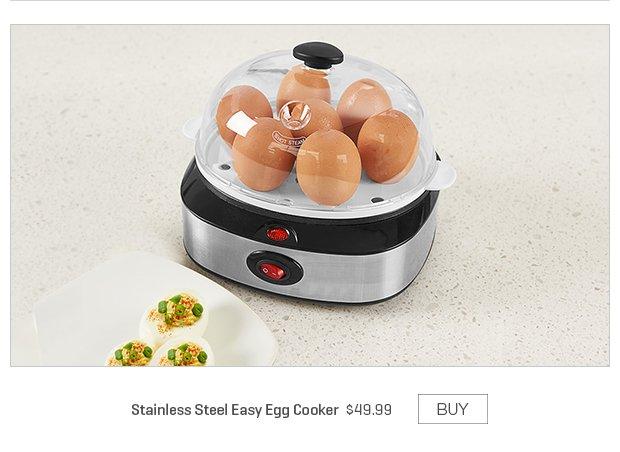 Stainless Steel Easy Egg Cooker